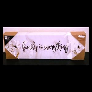 Family is everything artwork.